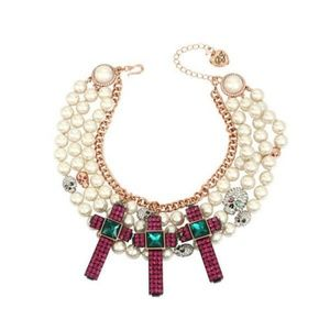 BETSEY JOHNSON Duchess of Betseyville Necklace
